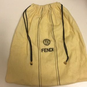 Authentic Fendi storage bag